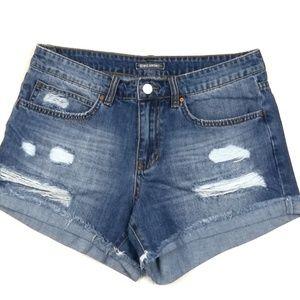 Billabong High Rise Denim Shorts. Size 27